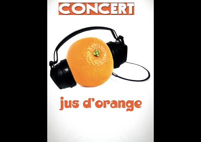 Affiche neutre Jus d'Orange