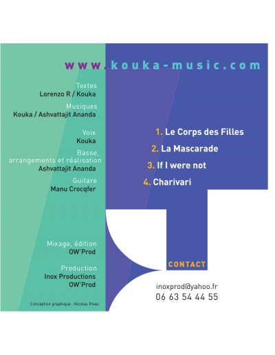 Back jacquette CD Kouka