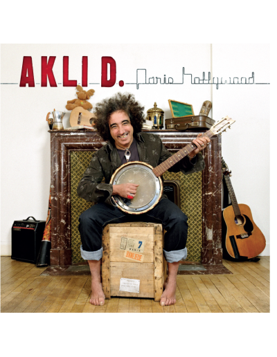 Couverture jacquette album Akli D.