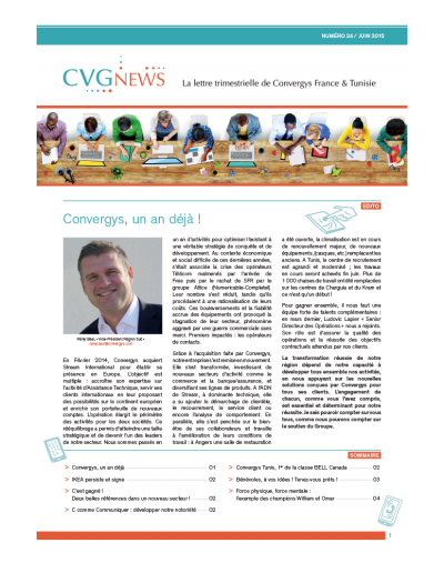 Newsletter Convergys