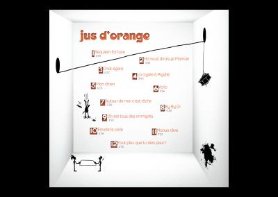 Intérieur livret Jus d'Orange