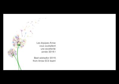 Intérieur carte de vœux 2016