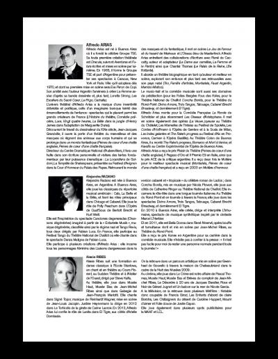 Back dossier de presse Argentine