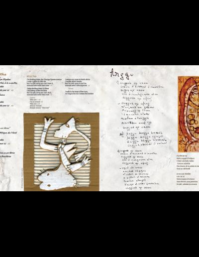 Intérieur livret album Akli D.