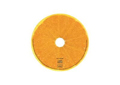 Rond CD Jus d'Orange
